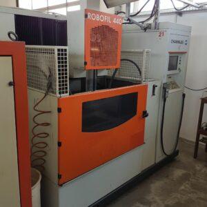Charmilles Robofil 440 huzalos szikraforgácsológép