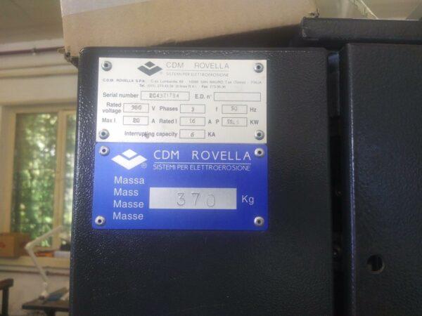 CDM Rovella cnc tömbszikra