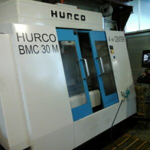 HURCO BMC30 + 4 tengely